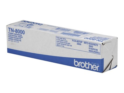BROTHER TN-8000 Toner schwarz Standardkapazität 2.200 Seiten 1er-Pack