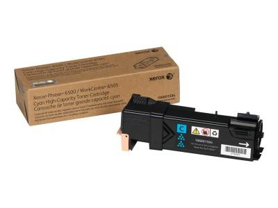 XEROX XFX Toner cyan für Phaser 6500 WorkCentre 6505 hohe Kapazität 2.500 Seiten 1er-Pack