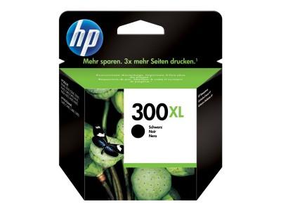 HP 300XL Original Tinte schwarz hohe Kapazität 12ml 600 Seiten 1er-Pack mit Vivera Tinten