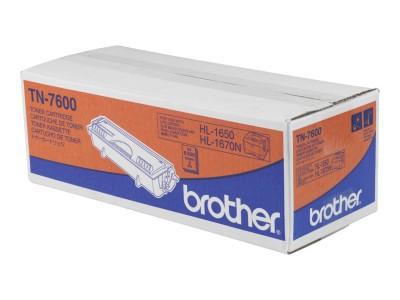 BROTHER TN-7600 Toner schwarz hohe Kapazität 6.000 Seiten 1er-Pack
