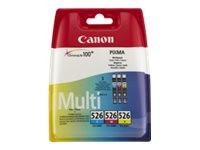 CANON CLI-526 C/M/Y Tinte cyan, magenta und gelb Standardkapazität 3 x 9ml 1er-Pack blister with sec