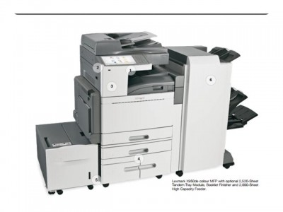 LEXMARK X950dhe MFP A3 color Drucker