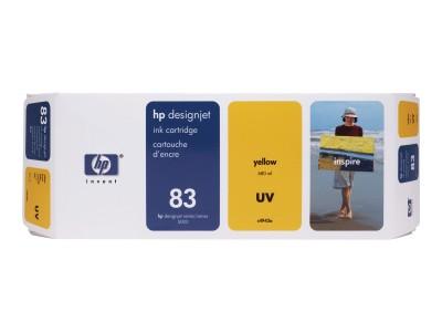 HP 83 Original UV-bestaendige Tinte gelb Standardkapazität 680ml 1er-Pack