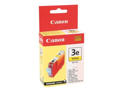 CANON BCI-3EY Tinte gelb Standardkapazität 13ml 300 Seiten 1er-Pack