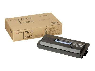 KYOCERA TK-70 Toner schwarz Standardkapazität 40.000 Seiten 1er-Pack