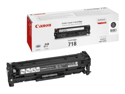 CANON 718 Toner schwarz Standardkapazität 3.400 Seiten 1er-Pack