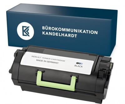 Rebuilt Toner 62D2X00 / 622X black für Lexmark MX711/810/811/812 ersetzt OEM Nr.: 62D2X00 / 622X Dru