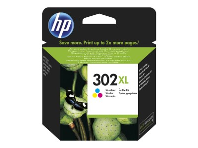 HP 302XL Tinte Tri-color