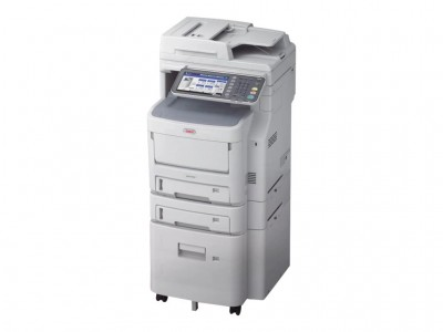 OKI MC760dnvfax MFP color LED Drucker A4