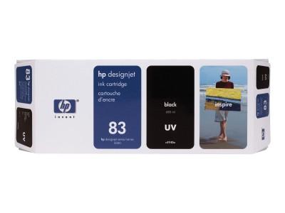 HP 83 Original UV-bestaendige Tinte schwarz Standardkapazität 680ml 1er-Pack