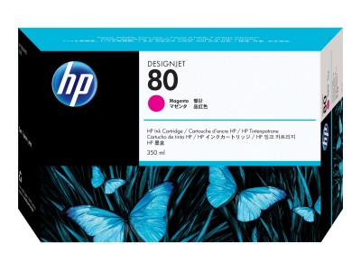 HP 80 Original Tinte magenta Standardkapazität 350ml 1er-Pack