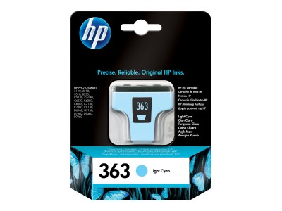 HP 363 Tinte hell cyan fuer PS8250 (IT)(ES)