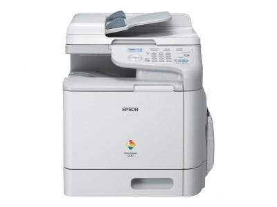 Epson AcuLaser CX37DN - Multifunktionsdrucker - Farbe - Laser - 215.9 x 500 mm (Original) - A4/Legal