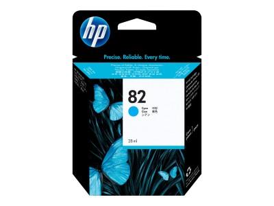 HP 82 Original Tinte cyan Standardkapazität 69ml 1er-Pack