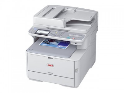 OKI MC362dn MFP color Drucker A4
