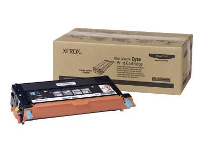 XEROX XFX Toner Cyan für Phaser 6180 hohe Kapazität 6.000 Seiten 1er-Pack