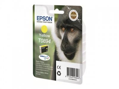 EPSON T0894 Tinte gelb kleine Kapazität 3.5ml 1-pack blister ohne Alarm