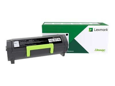 LEXMARK 502U Toner schwarz Extra hohe Kapazität 20.000 Seiten 1er-Pack return program